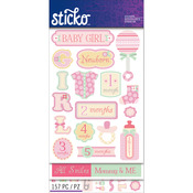Baby Girl - Sticko Flip Pack