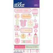 Baby Girl - Sticko Flip Pack