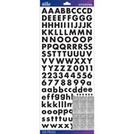 Black Futura Bold - Sticko Alphabet Stickers