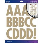 Kraft Futura Regular XL - Sticko XL Alphabet Stickers