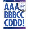 Blue Futura Regular XL - Sticko XL Alphabet Stickers