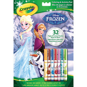 Frozen - Crayola Disney Coloring & Activity Book