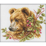 "11.75""X9.75"" 14 Count - Bear Counted Cross Stitch Kit"