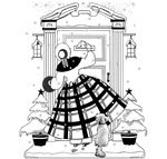 A Christmas Delivery - Crafty Individuals Unmounted Rubber Stamp