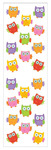 Owls Stickers - Mrs. Grossman's
