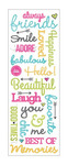 Friendship Puffy Stickers -  Momenta