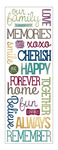 Family Puffy Stickers - Momenta
