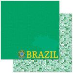 Brazil 12x12 Paper 25 Pack - Reminisce