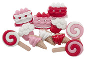 Sweet Tooth Valentine Buttons