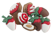 Candy Box Valentine Buttons
