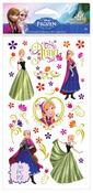 Anna Flat Flower Stickers - Frozen