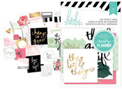 Hello Beautiful Memory Planner Foil Pocket Cards - Heidi Swapp