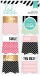 Hello Beautiful Memory Planner Fabric Flags - Heidi Swapp