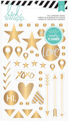 Hello Beautiful Memory Planner Chipboard Shapes - Heidi Swapp
