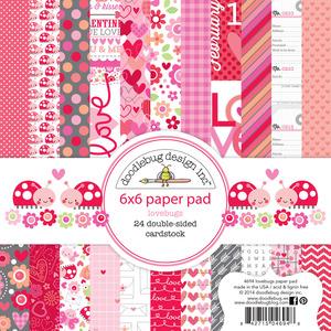 Lovebugs 6 x 6 Paper Pad - Doodlebug