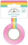 Rainbow Stripe Washi Tape - Hey Cupcake - Doodlebug