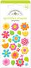 Spring Flower Sprinkle Shapes - Doodlebug