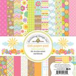 Hello Sunshine 6 x 6 Paper Pad - Doodlebug