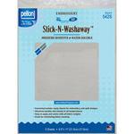 """Stick - N - Washaway Stabilizer -White 8.5""""X11"""" 5/Pkg"""