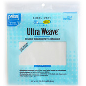 "White 20""X24"" - Ultra Weave Fusible Embroidery Stabilizer"