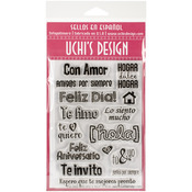 With Love (Con Amor) - Uchi's Design Spanish Clear Stamp Set