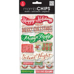 Holiday Tags/Numbers - Chipboard Value Pack