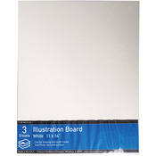 "11""X14"" - Crescent Illustration Board Value Pack 3/Pkg"
