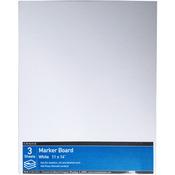"""11""""X14"""" - Crescent Hot Press Marker Board Value Pack 3/Pkg"""