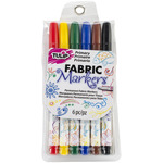 Primary - Tulip Writer Fabric Markers 6/Pkg