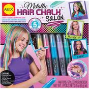 Metallic Hair Chalk Salon Kit