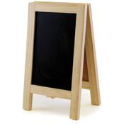 """Chalkboard/Cork Easel 6""""X10"""""""