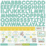 Bundle Of Joy Two - Boy - Alpha Stickers - Echo Park