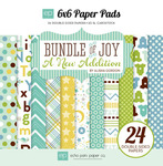 Bundle Of Joy Two - Boy - 6 x 6 Paper Pad - Echo Park