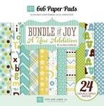 Bundle Of Joy Two - Boy - 6 x 6 Paper Pad - Echo Park