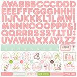 Bundle Of Joy Two - Girl - Alpha Sticker Sheet - Echo Park