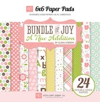 Bundle Of Joy Two - Girl - 6 x 6 Paper Pad - Echo Park
