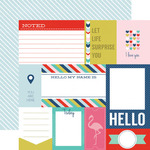 Journaling Cards Paper - Anything Goes - Echo Park