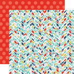 Arrow Stripe Paper - Anything Goes - Echo Park
