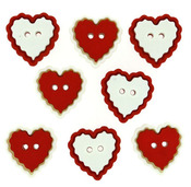 Heart Of Mine Buttons - Dress It Up Buttons