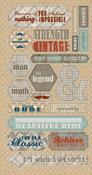Durable Paper Components - Authentique