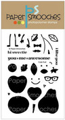 Cute Fruit Clear Stamps - Paper Smooches