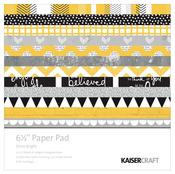Shine Bright 6.5 x 6.5 Paper Pad - KaiserCraft