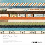 Wanderlust 6.5 x 6.5 Paper Pad - KaiserCraft
