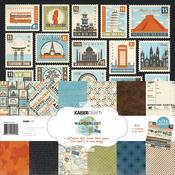 Wanderlust 12 x 12 Paper Pack - KaiserCraft