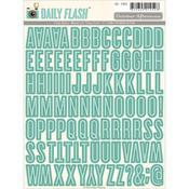 Mason Jar Alpha Stickers - Daily Flash Volume 3 - October Afternoon
