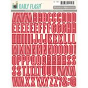 Red Wagon Alpha Stickers - Daily Flash Volume 3 - October Afternoon