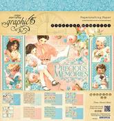 Precious Memories 8 x 8 Paper Pad - Graphic 45
