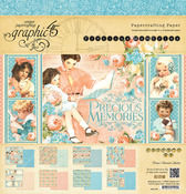 Precious Memories 12 x 12 Paper Pad - Graphic 45