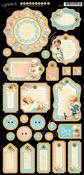 Precious Memories Journaling Chipboard - Graphic 45
