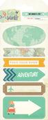 Hello World Travel Stickers - My Minds Eye